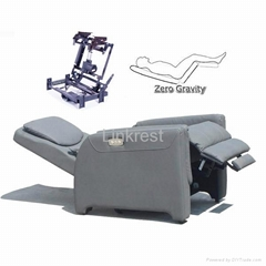 zero gravity recliner mechanism