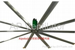 7.2m HVLS Workshop Large Ceiling Fan