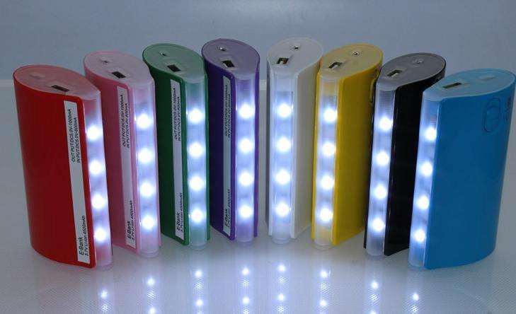 Belt light Portable Power Bank Charger 2