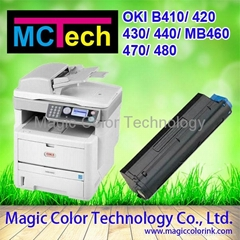 Compatible OKI B410 OKI Toner Cartridge