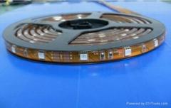 5050貼片燈條30燈/米12V灌膠燈條fpc板柔性燈條高亮