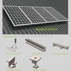 1KW Tile Roof Solar Mounting