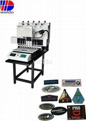 2D rubber  PVC label Automatic Making