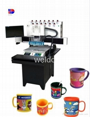 12 colors Mark Cup Making Machine