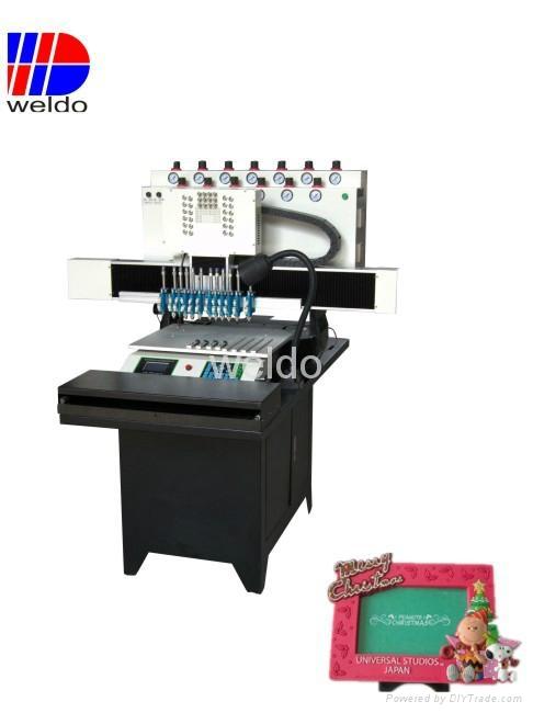 12 colors PVC Photo Frame Souvenir Making machine - WD800*360 12B ...