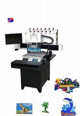 Supply High Quality PVC Fridge Magnet Making Machine
