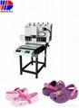 PVC labelling machine for Sliper uppers