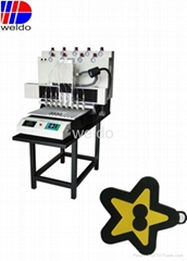 Supply Soft PVC label Zipper Sliders automatic dispenser machine