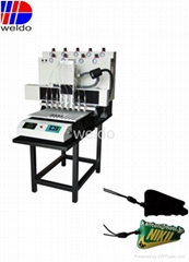 Supply 8 colors PVC hang tag automatic  machine for garment