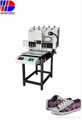 Sell Soft PVC footwear Lace dispenser machine labelling machine