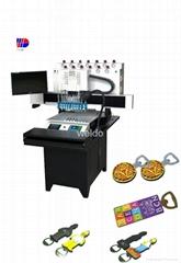 12 colors PVC dispenser machine for bottle opener