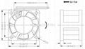 40x40x28mm  High Speed Flow DC Cooling Fan 2