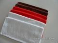 100%棉全棉素色活性染色小方巾 1