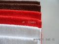 100%棉全棉素色活性染色小方巾 3