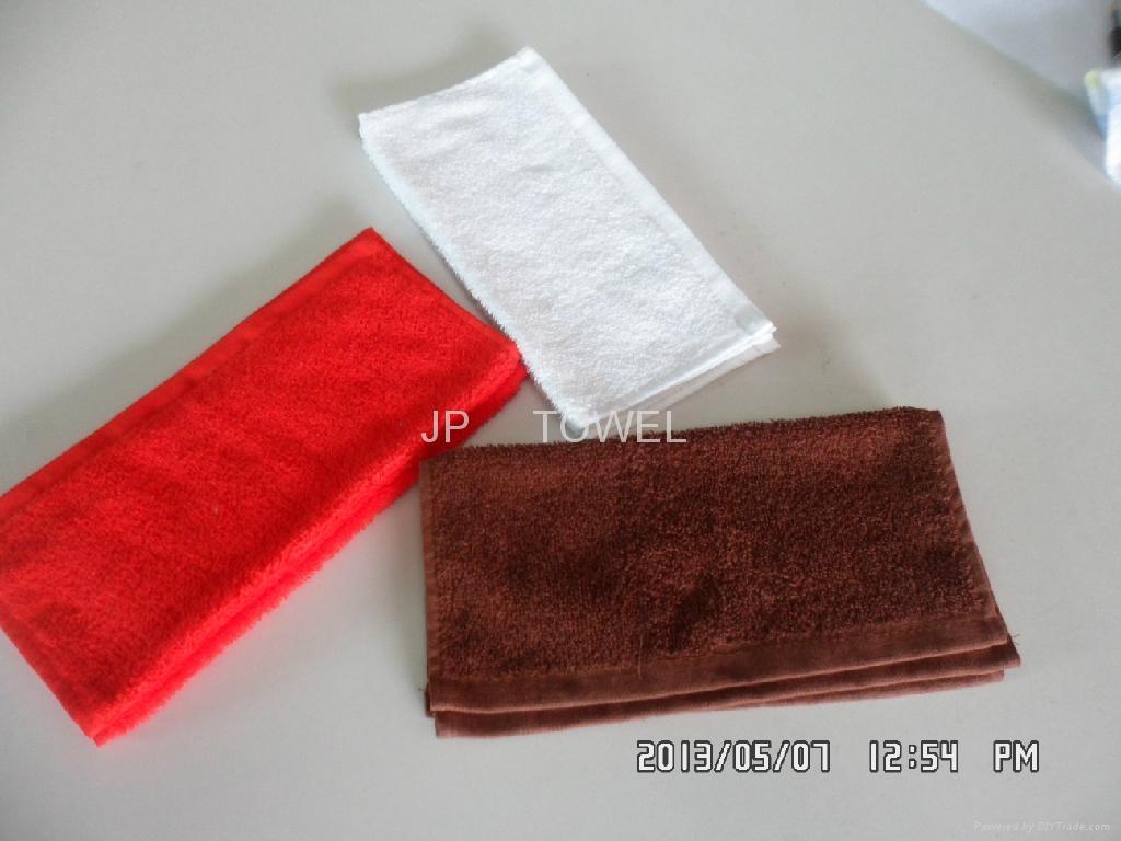 100%棉全棉素色活性染色小方巾 4