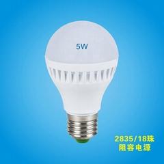 LED球泡5w