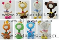3d face doll-Rocking Doll