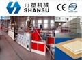 PVC Foamed Sheet Production Line wpc