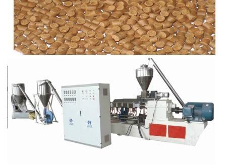 wpc pelletizing machine wpc granule machine 1