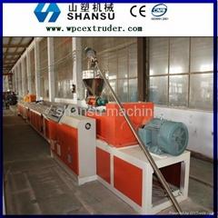 PVC WPC Decking Machine