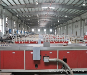 PVC WOOD DOOR PRODUCTION LINE 1