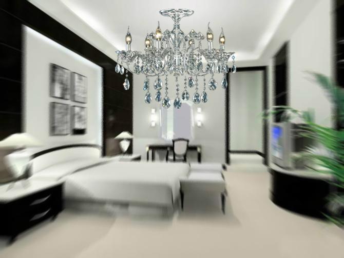 欧式风格的水晶吊灯 2