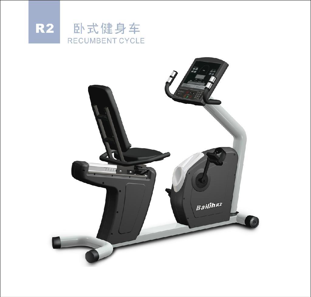 健身房商用器材---R2 (R2TV)臥車 1