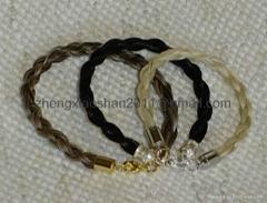 Handmade horse hair bracelets