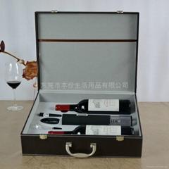 高檔電動紅酒酒箱