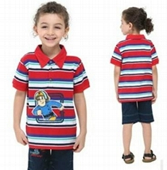 2014 Summber Boy T-Shit C3951 Peppa Pig Boy Clothes Garments