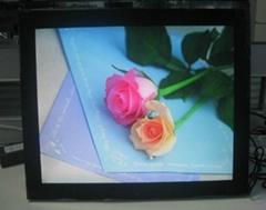 "21""acrylic digital photo frame motion sensor"