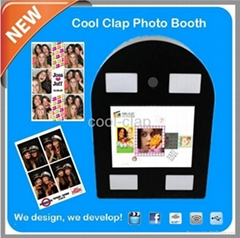 new wall-mountable photo booth automatic and portable machine