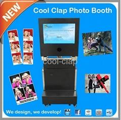 廣州酷拍天下折疊昇降式3D照相亭機器