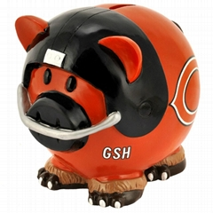 NFL CHICAGO BEARS COIN PIGGY BANK