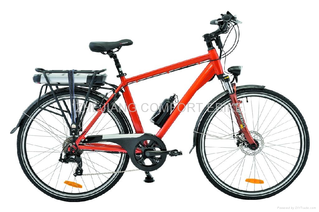 "28"" ELECTRIC CITY BIKE CF-TDB03Z 1"