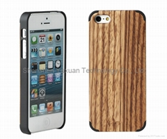 Hot selling wooden iPhone 5 case and bamboo phone case in 2014