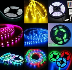 Waterproof SMD 3528 5050 LED Flexible Strip Light 12V LED Ribbon Tape Light
