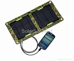 7W Outdoor Solar Panel Charger For Mobile Phone