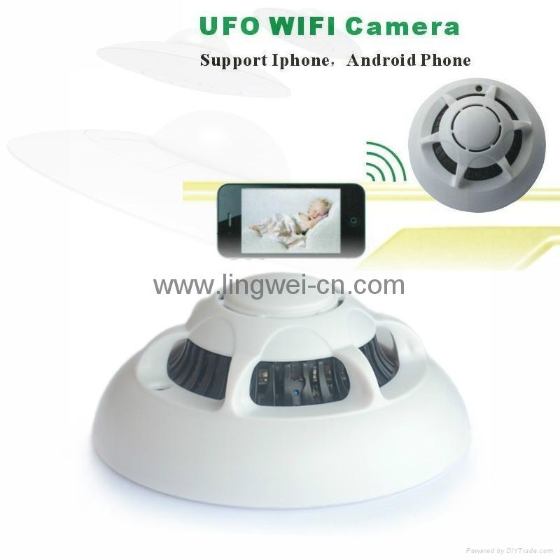 Spy Wifi Ip Hidden Camera Smoke Detector Style Ip Wifi