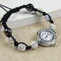 shamballa watch 10mm beads ladies girl's bracelet watch.wrist watch  2