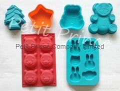 POPULAR silicone cake mould muffin mould ice mould