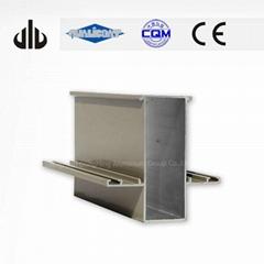Mirror Polished 6463 Alloy Extruded Aluminium Profile