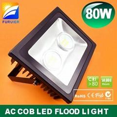 80W Samsung AC COB LED flood light