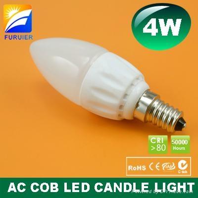 4W E14 C35 LED Candle Light 1
