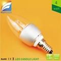 4W E14 C35 AC LED Candle Light