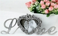 Europe ancient zinc alloy metal heart
