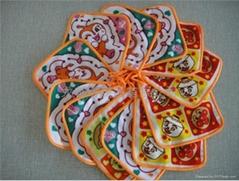 出口日本純棉小方巾