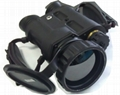 Thermal imaging binocular, uncooled amorphous silicon FPA; 384X288; 1