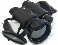 Thermal imaging binocular, uncooled amorphous silicon FPA; 384X288;