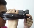 Thermal imaging binocular, uncooled amorphous silicon FPA; 384X288; 5